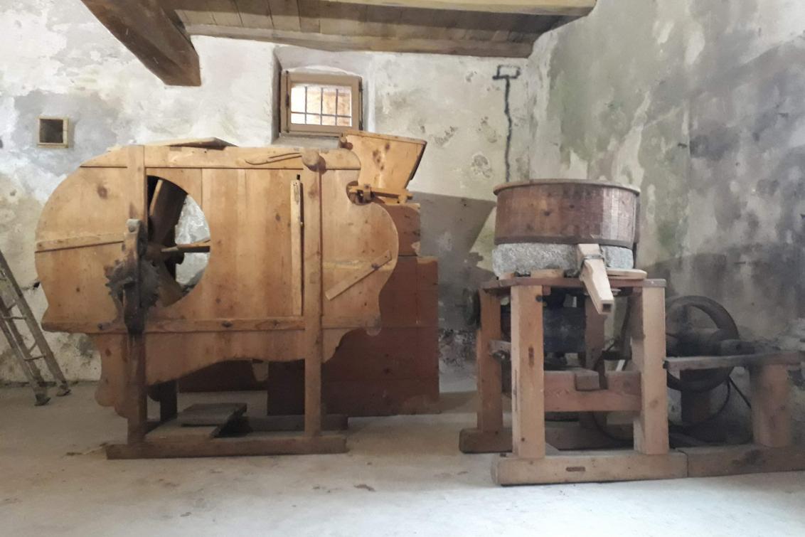 Ripristino in uso dell'antico mulino Moser-Pressa